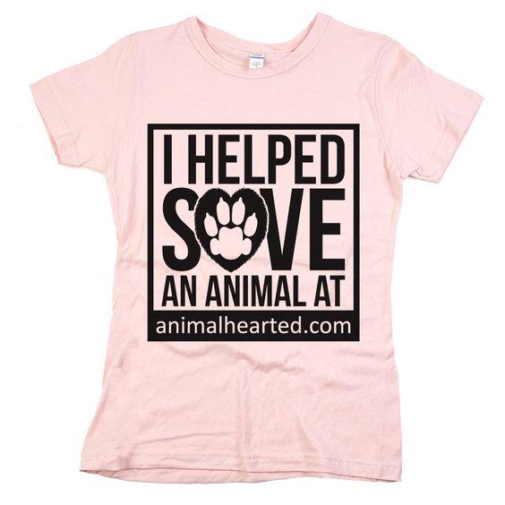 'I Helped Save An Animal At AnimalHearted.com'