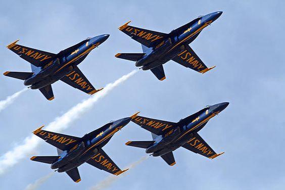 Title:  Blue Angels Over Colorado  Artist:  Bob Hislop