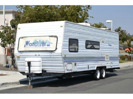 2000 Thor Motor Coach Wanderer 250 4670lbs bunks