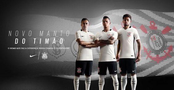 Ceci est le nouveau Maillot de foot Corinthians pas cher pour la saison 2016/2017: