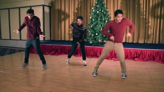 A choreographed rendition of R Kelly's - This Christmas I'll Be Steppin.  There is an extended version of the song I highly recommend, but these guys make an entertaining video with a shorter version.