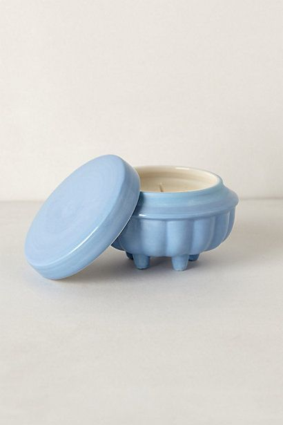 Dobro Footed Candle, Small #anthropologie