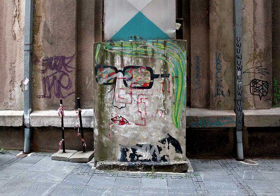 Kocka / Stari grad #BeogradskiGrafiti #StreetArt #Graffiti #Beograd #Belgrade #Grafiti