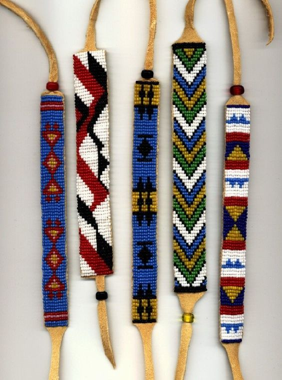 Free native american seed bead patterns jewelry making for How to make american indian jewelry