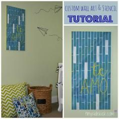 DIY Tutorial Home / How To Create Patchwork Wall Art - DIY Decorating Tutorial - Bead&Cord