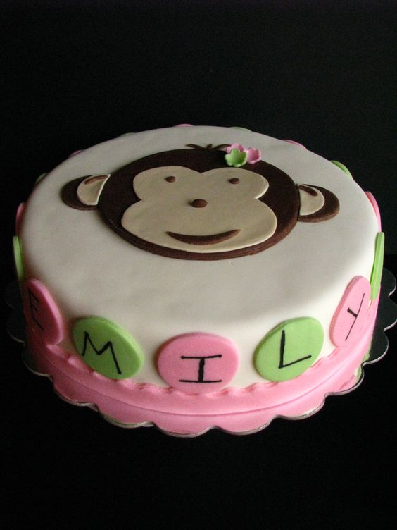 ... cakes 1st birthdays monkey little girls other birthdays cakes girls