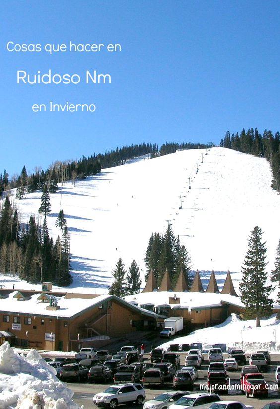 Cosas que hacer en Ruidoso New Mexico, nuestras vacaciones en familia a Ski Apache un lugar para esquiar y visita al Ruidoso Winter Park.
