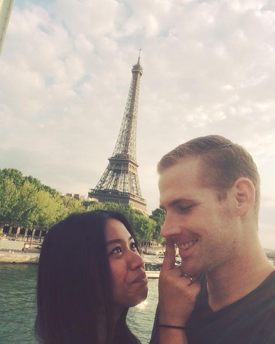 #TBT to Paris and my goofy face picking boogers. by carolump