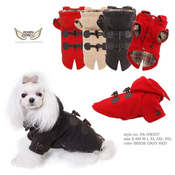 Duffle coat Puppys and Angel on Pinterest