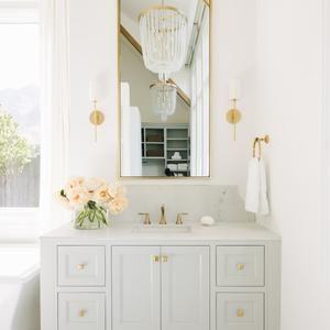 Mitzi Olivia Linen Wall Sconce In 2021 Bathroom Inspiration Beautiful Bathrooms Bathroom Interior Design