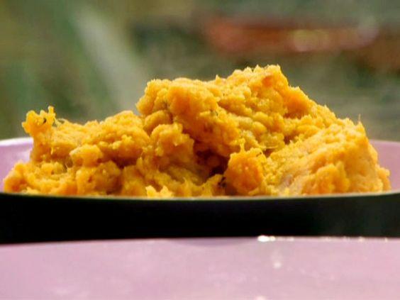 Orange Scented Mashed Sweet Potatoes #myplate #veggies
