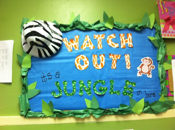 Loved making this board as we talked about the zoo and the jungle.
