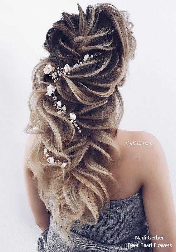 17 Best Long Wedding Prom Hairstyles From Nadi Gerber My Stylish Zoo Haircoloring Haircuts Haircolorideas H Kapsel Bruid Kapsels Haar Kapsels Bruiloft