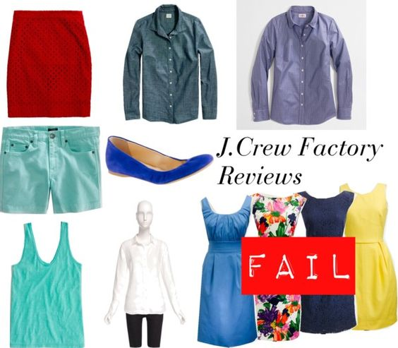 """""""J.Crew Factory Reviews - April 2013"""" by jcrewjd ❤ liked on Polyvore"""