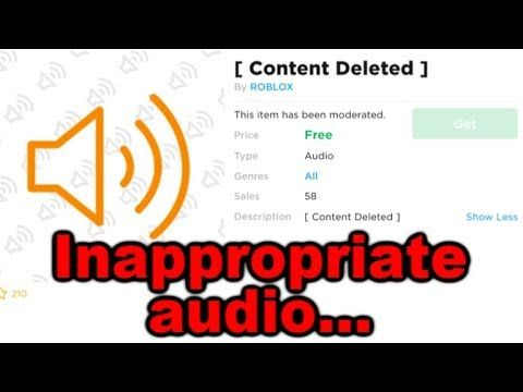 Roblox How To Download Audio Roblox Uploaded Some Pretty Bad Audios Roblox What Is Roblox Free Mobile Games
