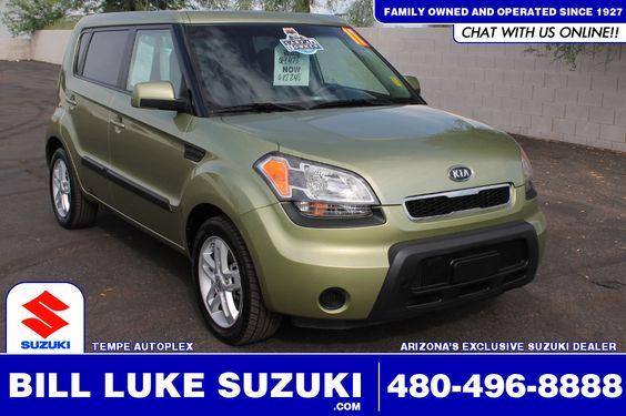 Used 2011 Kia Soul Plus For Sale at Bill Luke Suzuki in the Tempe Autoplex!