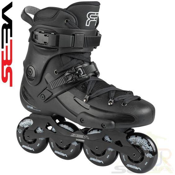 Seba '16 FR 1 80 Inline Skates - Black