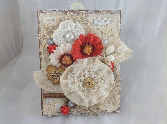 """""""Follow your dreams"""" Handmade Card"""
