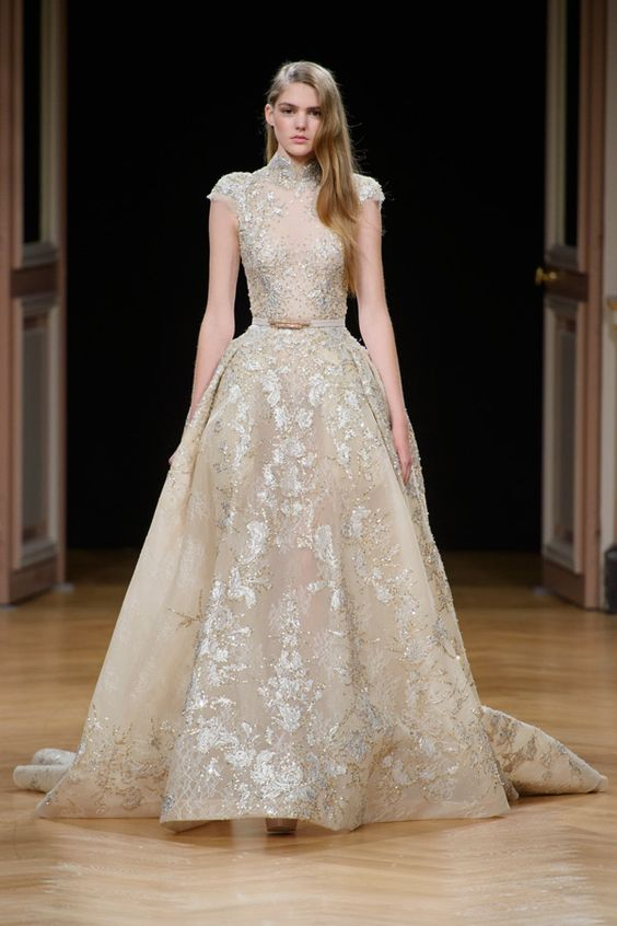 WedLuxe– Ziad Nakad – Haute Couture F/W 2017 | Follow @WedLuxe for more wedding inspiration!: