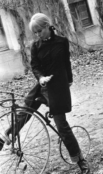 Geraldine Chaplin, Cuenca, Spain, 1967.