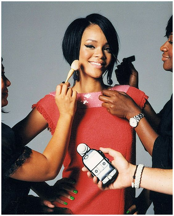Rihanna - Photoshoot for Seventeen Magazine by Cliff Watts in 2007