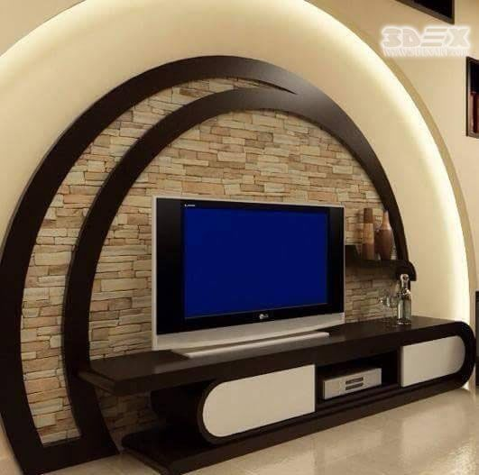 Gypsum Board Designs For Tv Wall In Living Rooms If You Are Determined To Give A New Air To Your Home Wall Tv Unit Design Modern Tv Wall Units Modern