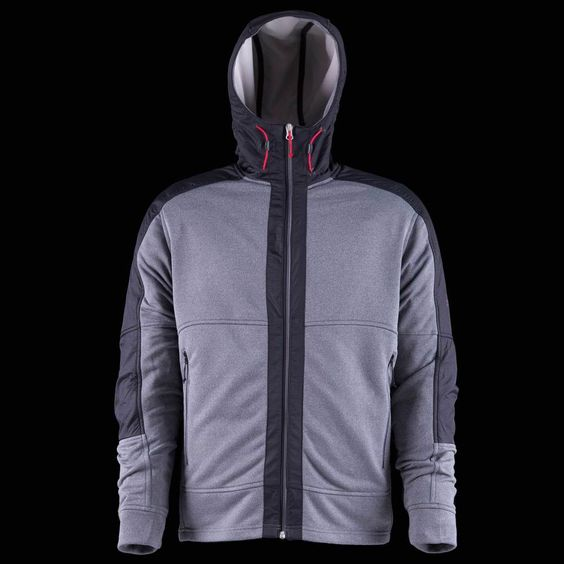 Truly a tech casual hoody by definition. Weather resistant fabric ...