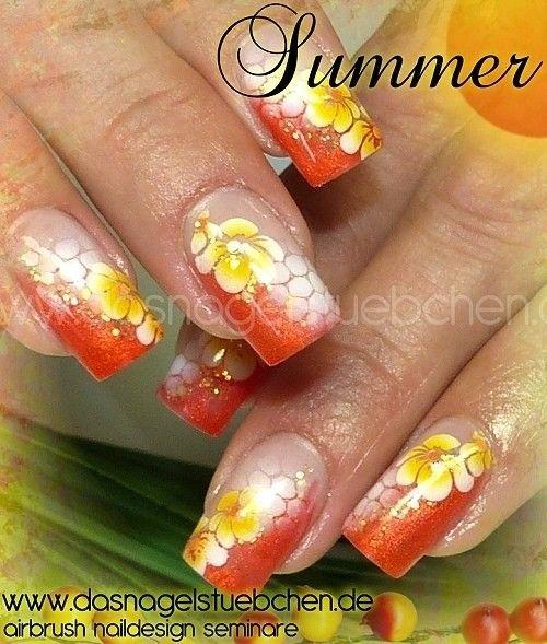 Sommerdesign in knalligen Farben