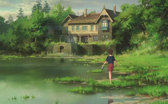 Image from Studio Ghibli's  'When Marnie Was There'