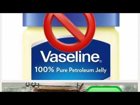 طريقة عمل فازلين بالبيت صحي و خال من الجل النفطي الضار Youtube Vaseline Pure Products Petroleum Jelly