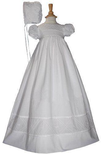 "Heirloom 34"" Christening Baptism Gown $176.00 (save $20.00)"