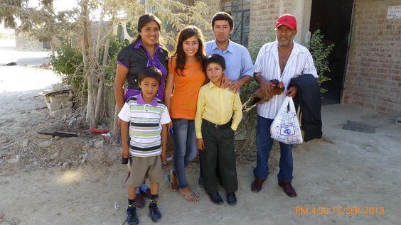 Fotos de Familia en la Ciudad de Paita, Piura, Perú