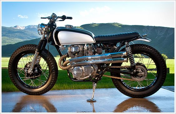 75 HondaCL360  #bikes #motorcycle #honda #vintage