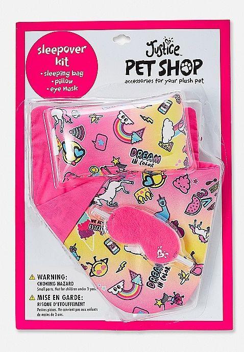 Pet Shop Sleepover Kit Justice Pet Shop Justice Accessories