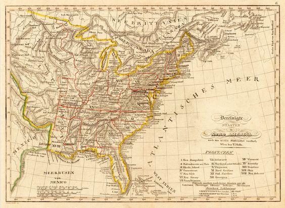 Vereinigte Staaten in Nord America nach den besten Huelfsmittel verfast, Wien bey T. Mollo, 1807