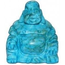 Blue #Howlite #Buddha 50mm - www.dochsa.com #Dochsa