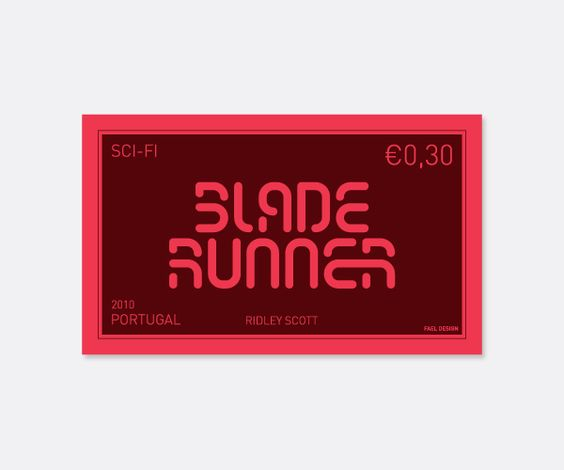 Blade Runner Stamp by FAEL