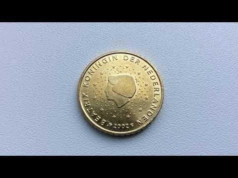 Very Rare 50 Euro Cent Defect 1000000 Youtube Rare Coins Valuable Coins Euro