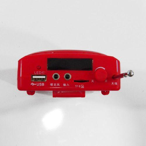 Amplificador de Voz recargable con microfono