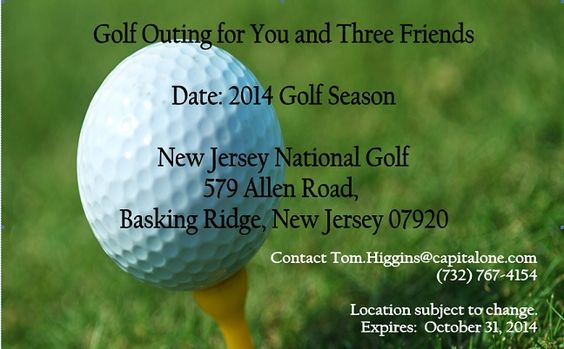 Bid on a Golf Outing for Four at this Thursday's Toys for Tots Happy Hour. All proceeds benefit the #PSU Chapter Scholarship Fund. Event details at pennstatecnj.com