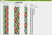 padrão de corda crochet frisado