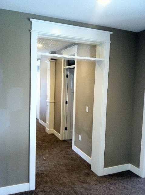 White Trim Gray Walls And Gray Carpet On Pinterest