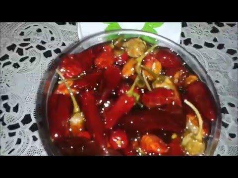 شهيوات ام العربي فلفلة حارة يابسة مرقدة في زيت الزيتون لعدة استعمالات Youtube Food Vegetables Tomato
