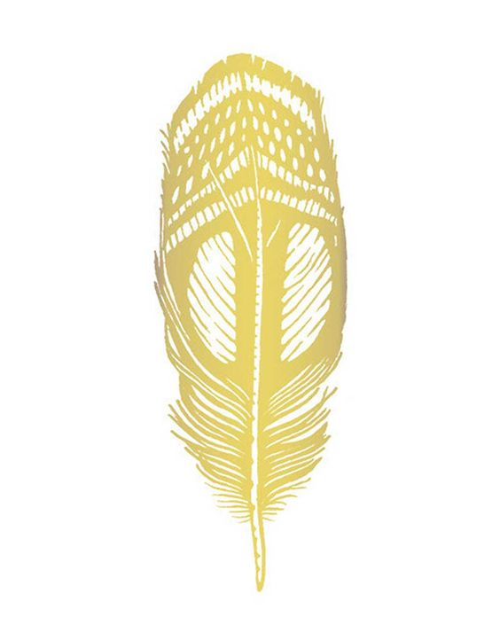 This Quail Feather is sure to make you stand out from the flock. Tattlys are safe and non-toxic, lasting on average 2-4 days. We suggest placing on oil-free areas where skin does not stretch and keep