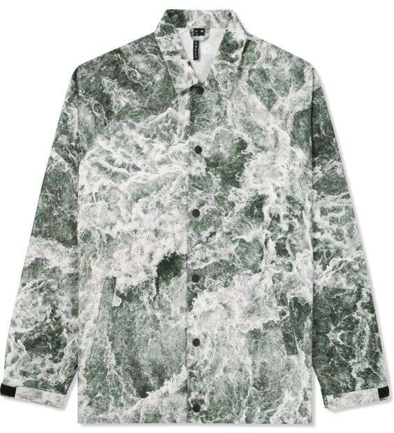 Uppercut Grey Outside Coach Full Waves Jacket
