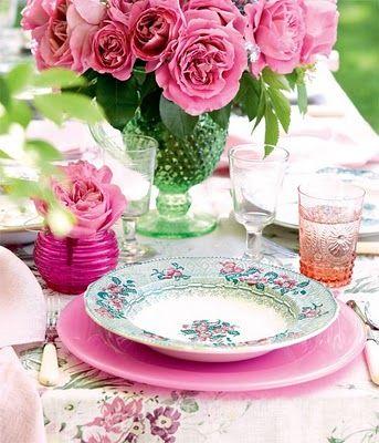 Pretty Tea Party colors
