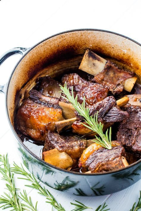 Classic Braised Beef Short Ribs