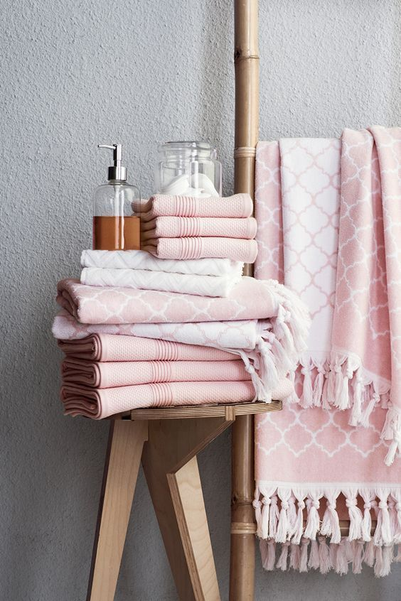Finding Inspiration Think Pink Bathroom Rugs Modern Bathroom