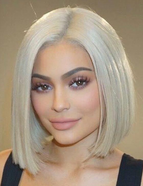 20 Kylie Jenner Frisuren Zum Sterben Frisuren Kurze Blonde Bobs Kylie Jenner Frisuren