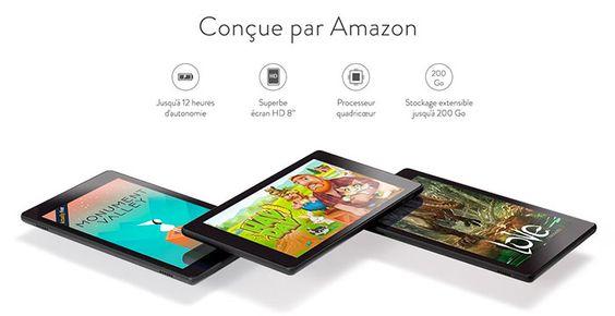 Une nouvelle Fire HD chez Amazon !